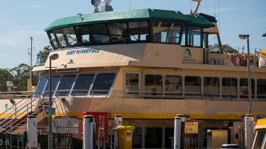 The ferry formerly known as Ferry McFerryface.