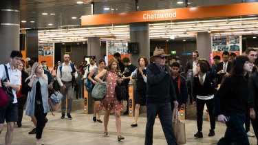 Thousands of extra passengers will pass through Chatswood station every day after the metro line opens on May 26.
