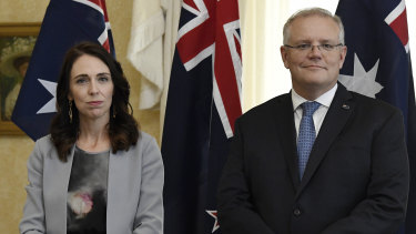 New Zealand Prime Minister Jacinda Ardern was invited to join Australia's national cabinet meeting by Prime Minister Scott Morrison.