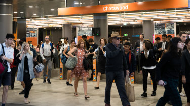 Thousands of extra passengers will pass through Chatswood station every day when the metro line opens in May.