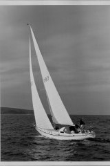 Cole 43, designed by Peter Cole and built by Bruce Fairlie, had a  reputation for seaworthiness.