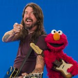 Dave Grohl lands on Sesame Street.