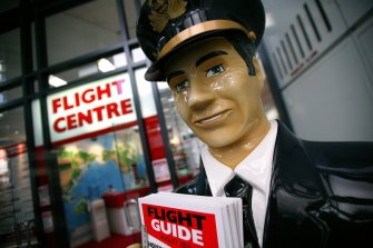 RBC maintains a sector perform rating on Flight Centre, but has trimmed the price target from $16 to $15.