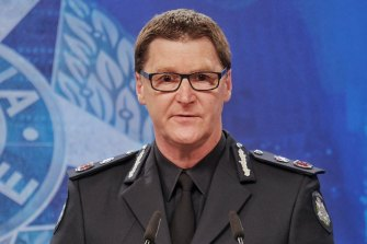 Chief Commissioner Shane Patton