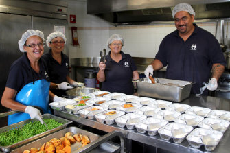 About 78,000 Meals on Wheels volunteers prepare and transport 10 million meals to people around the country.