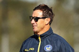 Eels halves coach Andrew Johns.