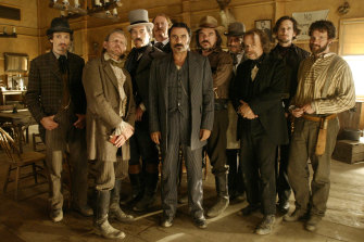 What a loveable bunch of rogues: The crew from Deadwood.