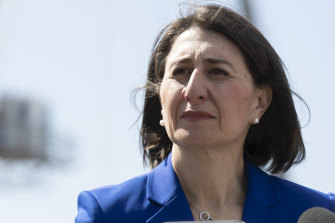 Premier Gladys Berejiklian said she raised with her Queensland counterpart concerns that healthcare workers should be able to travel more freely across the border.