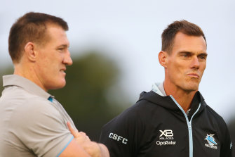Sharks coach John Morris and Cronulla legend Paul Gallen have both asked for a 'please explain' on ASADA's six-month delay.