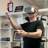 FrameVR founder Justin McArdle.