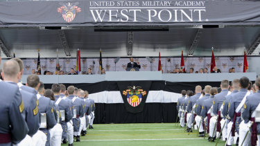 Peter Zhu was a cadet at the US Military Academy West Point.