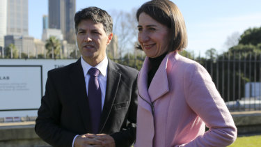 Mr Dominello praised Premier Gladys Berejiklian for her 'bold' moves.