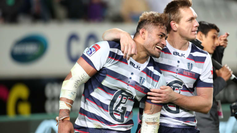 'Granted bail': Amanaki Mafi was one of the Rebels' best players.