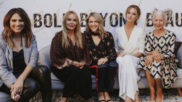 Beauty panel hosted by Sally Obermeder, L'OréalParis Australia Makeup Director Noni Smith, Lorna Jane Clarkson, Samantha Wills and Sarah Jane Adams.