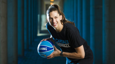 Marianna Tolo is coming back to Canberra.