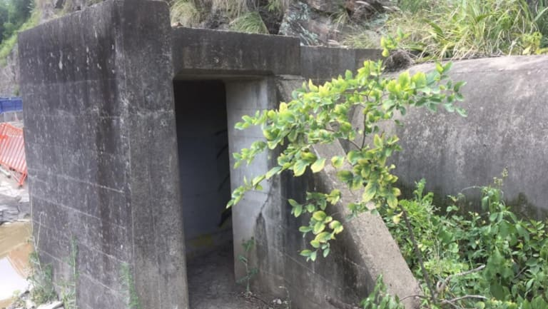 WWII Air raid shelters under Brisbane's Story Bridge