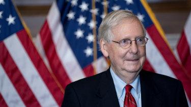 Republican Senator Mitch McConnell.