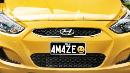 Bad news if your favourite emoji isn't part of new Queensland plate release
