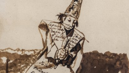 How young Goya's encounter with a 'witch' left a lifetime scar