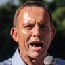 Foreign influence laws won't change after Tony Abbott targeted, Porter says