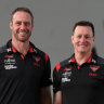 Bombers coach-in-waiting Rutten was contacted by the Crows
