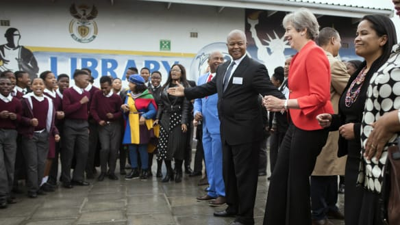 Theresa 'RoboMay' takes stiff turn on South Africa dance floor