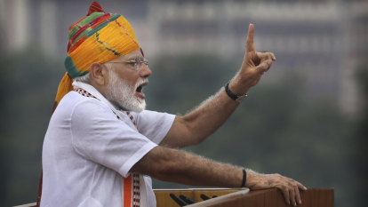 Indian PM Modi uses Independence Day speech to defend Kashmir action