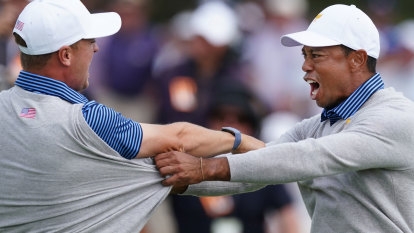 Tiger's US launch final hole fightback but Els promises no repeat