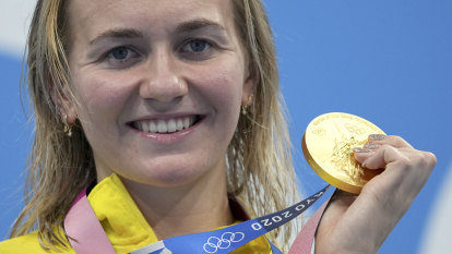 'I'm very proud of what I've achieved': Titmus wins second gold as relay team claim bronze