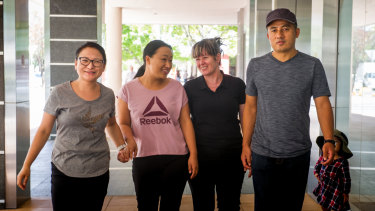 The union representing Canberra cleaners Tshering Choden, Karma Dema, Maria Vaz and Yonten Galey have won a Fair Work case against their old employer.