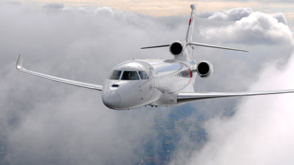 Higher plane: All aboard the $82 million private jet