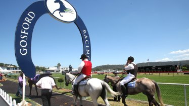 Racing returns to Gosford on Sunday with a seven-race card.