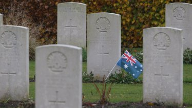Villers-Bretonneux Australian memorial and cemetery will be silent on Anzac Day