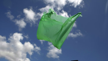 Plastic bags have been in the news in Australia, with a ban imposed by Coles and Woolies.