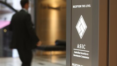 ASIC has said it is taking a tougher line.