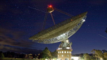 The Parkes Observatory in central NSW provided television images of the first moon landing.