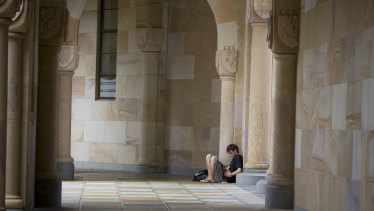 UQ is moving online while campuses remain open.