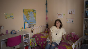 Georgia Pavlioti lost her job during the debt crisis.