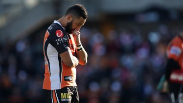 Heavy heart: Benji Marshall is mourning the death of his grandfather but will play on Friday night.
