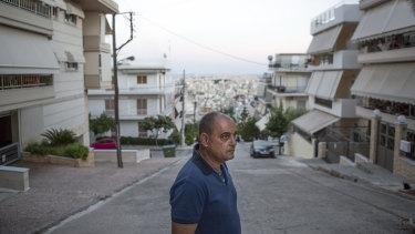 Dimitris Zafiriou is a specialist in metal infrastructure in Keratsini, a working class neighbourhood of Piraeus, Greece.