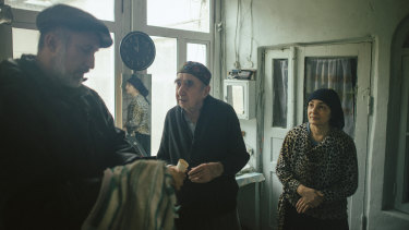 Lyuba Kimatova, right, says there were only four or five families left in Bukhara who kept kosher and followed Jewish traditions.