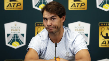 Rafael Nadal is injured.