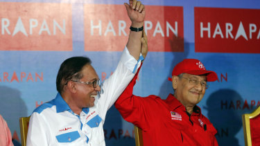 Anwar will run in a by-election in the southern coastal town of Port Dickson on Sunday in a bid to return to parliament and prepare for his eventual take-over from Mahathir.