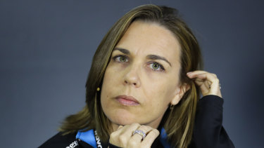 Claire Williams now acts as team principal for Williams.