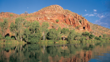 The Ord River on WA's North West.