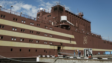 With the the Akademik Lomonosov, Russia is launching an experiment with nuclear power, one that backers say is a leading-edge feat of engineering but that critics call reckless.