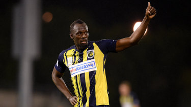 Approval: Sam Kerr says she has been excited by Usain Bolt's A-League foray.