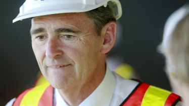 Then-premier John Brumby in 2010.