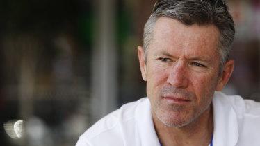 Steve Folkes in 2008.