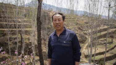 Raymond Zhong of Gao Shouguang, who was ordered to dispose of his pigs after an outbreak of African swine fever at a neighbouring farm.